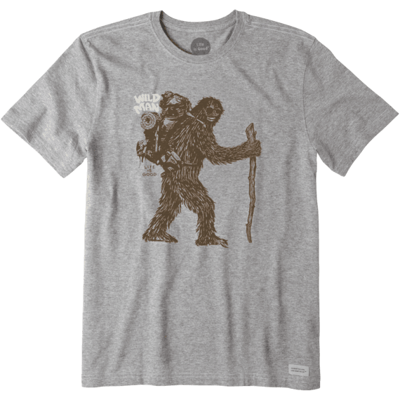 Men's Wild Man Bigfoot Crusher Tee