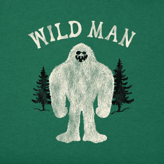 Men's Wild Man Crusher Tee