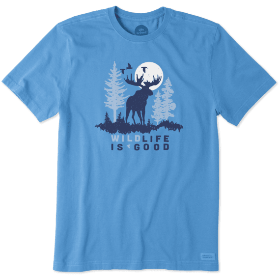 Men's Wildlife Moose Crusher Tee