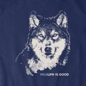 Men's Wildlife Wolf Crusher Tee
