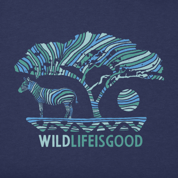 Men's Wildlife Zebra Crusher Tee