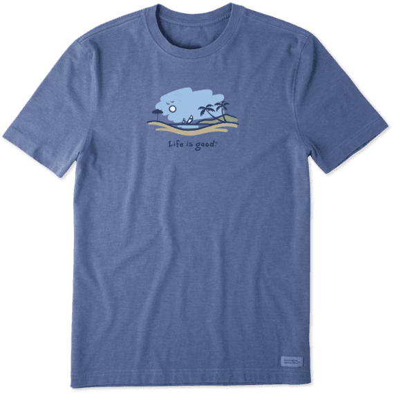 Men's Windsurf Vista Vintage Crusher Tee