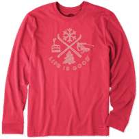 Men's Winter Action Long Sleeve Crusher Tee