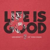 Men's Wisconsin Badger LIG Fill Cool Tee