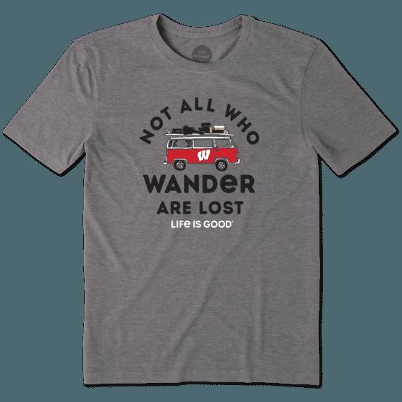 Men's Wisconsin Retro Van Cool Tee