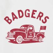 Men's Wisconsin Vintage Truck Cool Tee