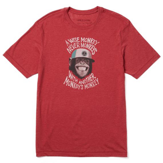 Men's Wise Monkey Cool Tee