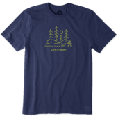 Men's Wooded Vista Crusher Tee