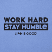Men's Work Hard Stay Humble Cool Tee