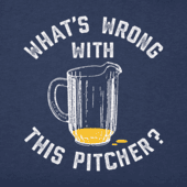 Men's Wrong W This Pitcher Crusher Tee
