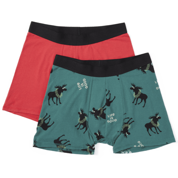 Men's X-Moose & LIG Boxer Brief Set