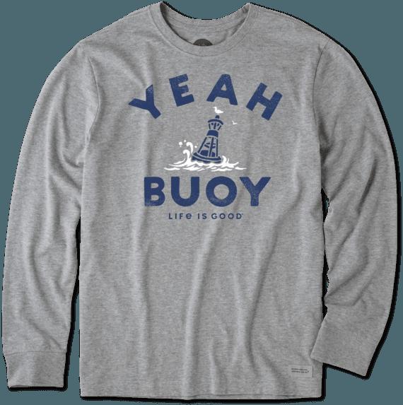 Men's Yeah Buoy Long Sleeve Crusher Tee