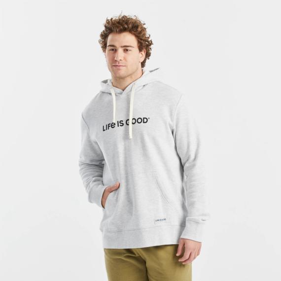 Men's LIG Horizontal Simply True Fleece Hoodie