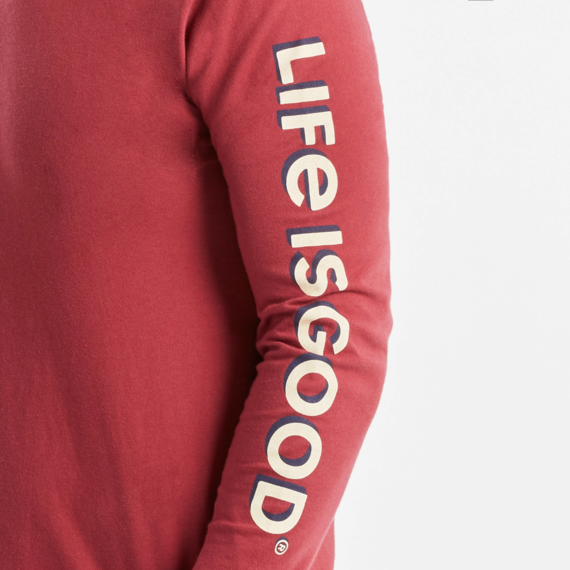Men's Let The Good Times Roll Long Sleeve Crusher Tee