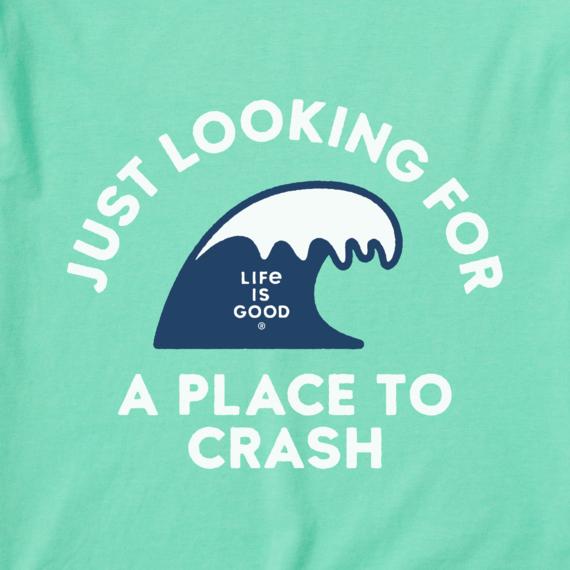 Men's Place To Crash Crusher-LITE Tee