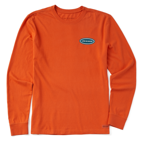 Men's The Right Thing Long Sleeve Crusher Tee
