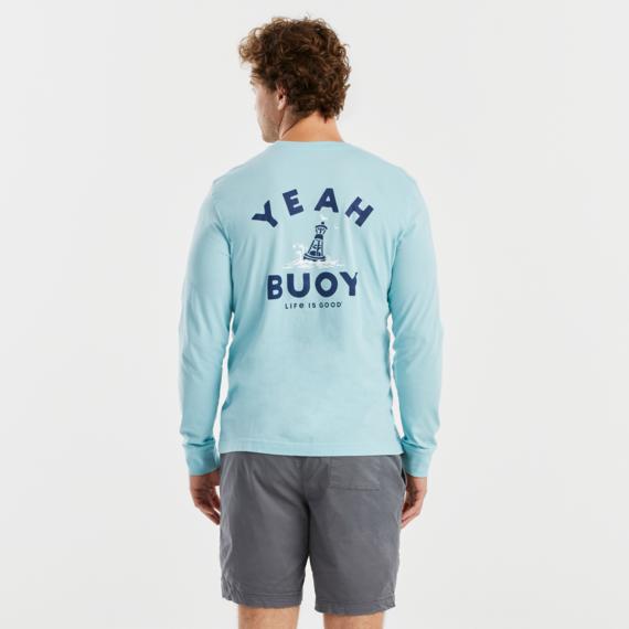 Men's Yeah Buoy Crusher-LITE Long Sleeve Tee