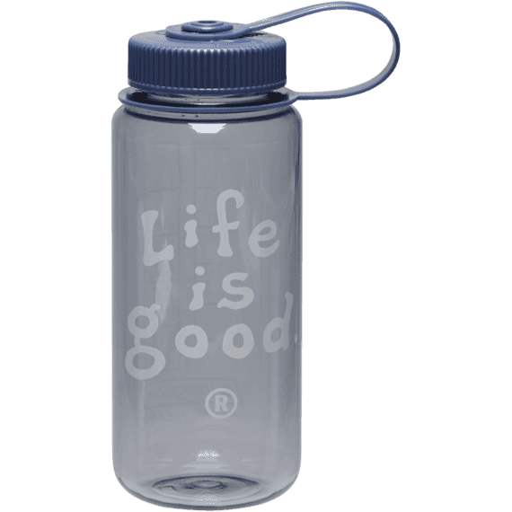 Life is good Classic Water Bottle