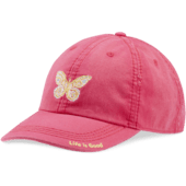 Mosaic Butterfly Sunwashed Chill Cap
