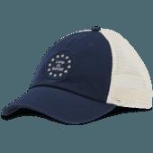 New Logo Stars Soft Mesh Back Cap