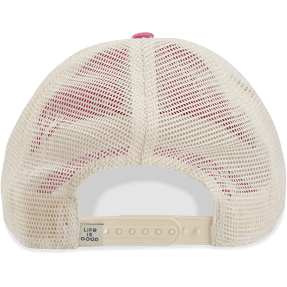 New Logo Stars Soft Mesh Back Cap