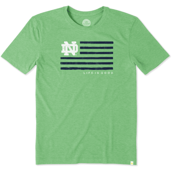 Men's Notre Dame Flag Cool Tee