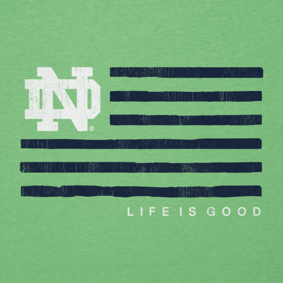 Men's Notre Dame Flag Cool Tee