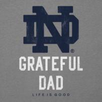 Men's Notre Dame Grateful Dad Cool Tee