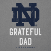 Men's Notre Dame Grateful Dad Cool Tee