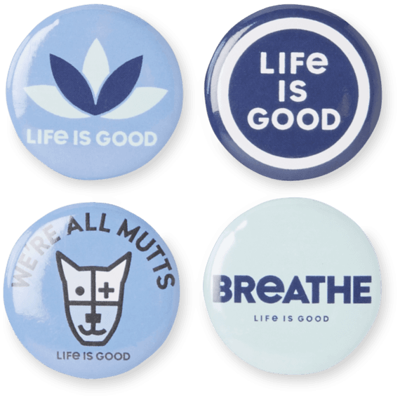 Openness Positive Pins 4-Pack