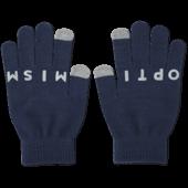 Optimistic Snowflake Texting Gloves