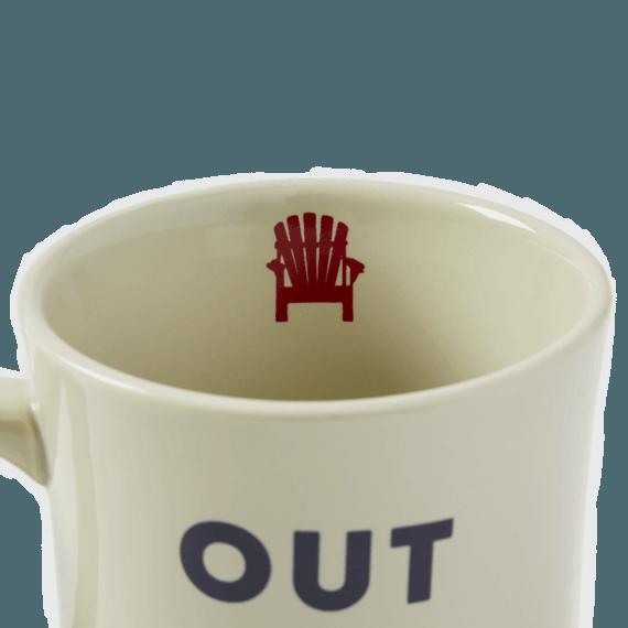Out of Office Adirondack Diner Mug