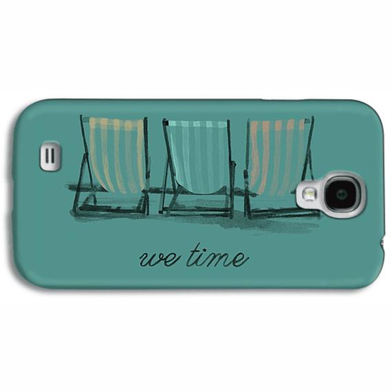 We Time Beach Chairs  Phone Case