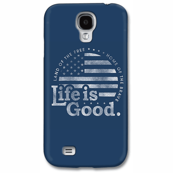 Life Is Good Flag Circle  Phone Case