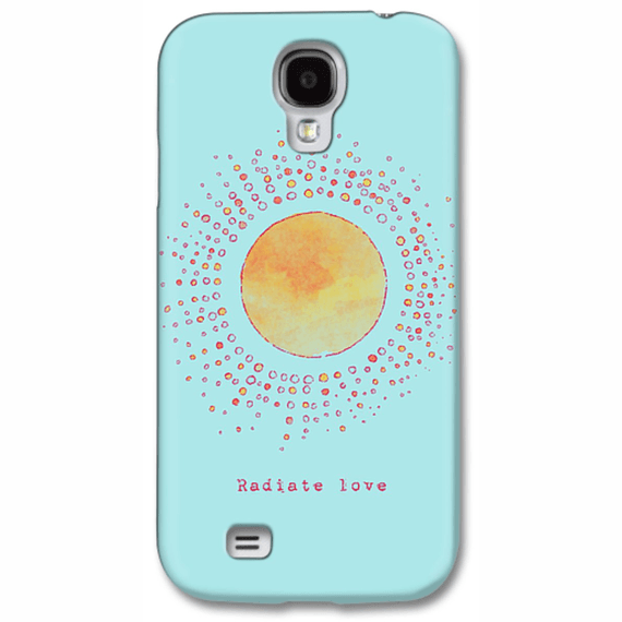 Radiate Love Sun  Phone Case