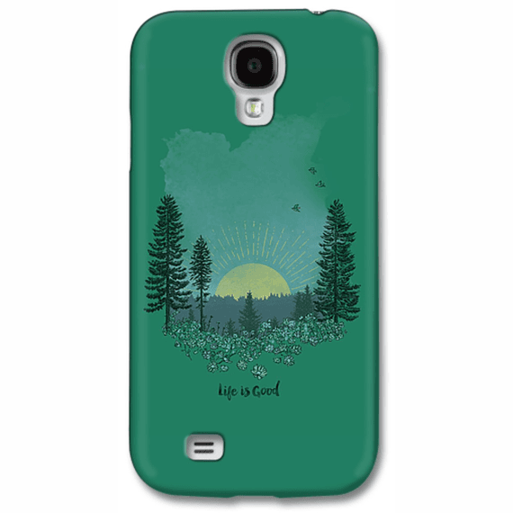 Meadow Sunset Portrait  Phone Case