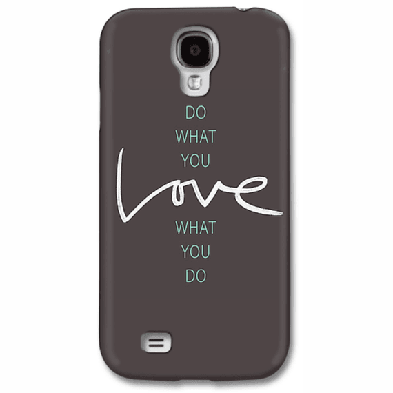 Do What You Love Words Phone Case