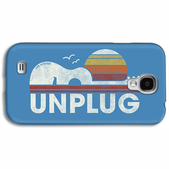 Unplug Guitar Landscape  Phone Case