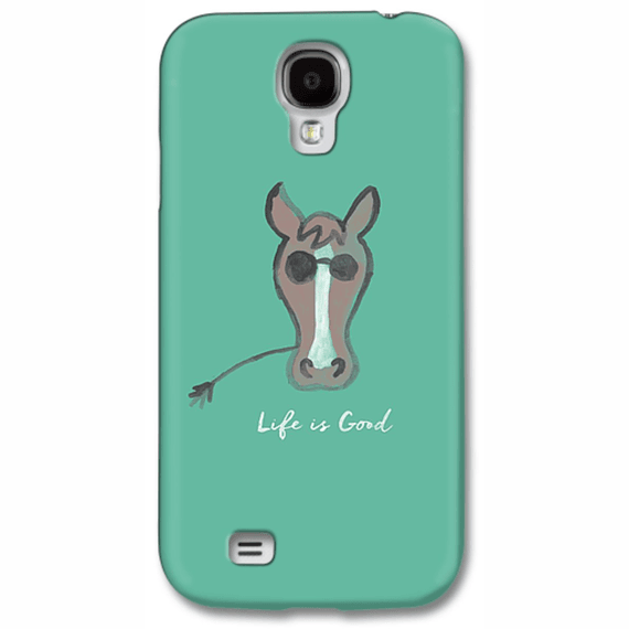 Life Is Good Horse  Phone Case