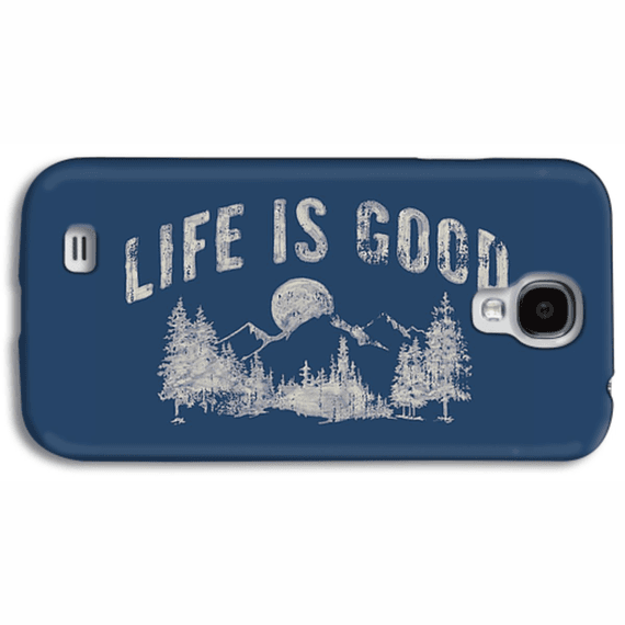 Life Is Good Night Mountain  Phone Case