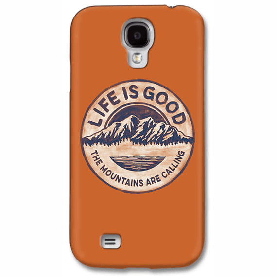 The Mountains Are Calling  Lig Circle  Phone Case