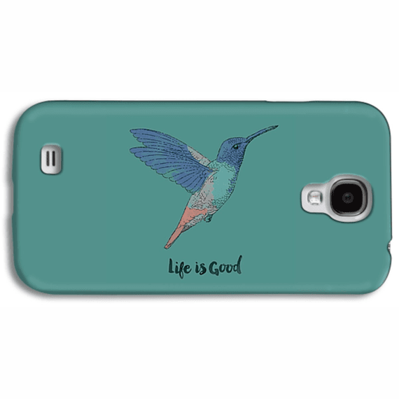 Life Is Good Hummingbird  Phone Case