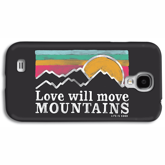 Love Will Move Mountains  Phone Case