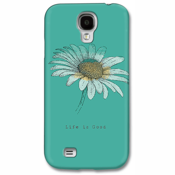 Daisy Life Is Good Engraved Phone Case