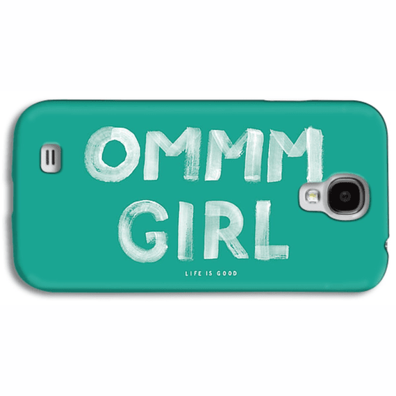 Ommm Girl Painted Phone Case