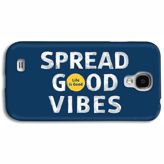 Spread Good Vibes Dot Phone Case