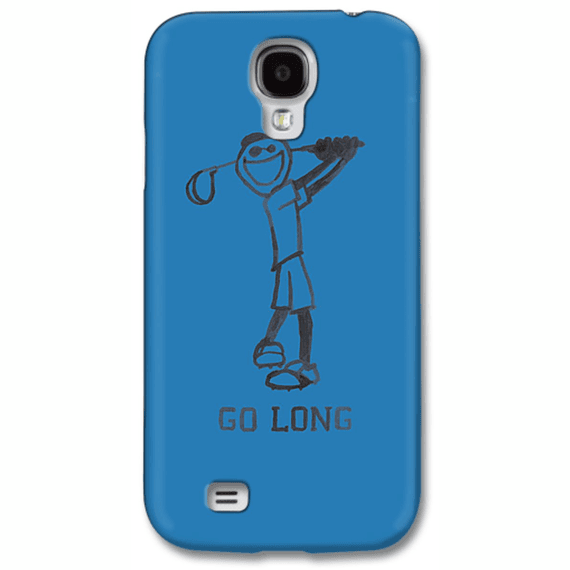 Go Long Golf Phone Case
