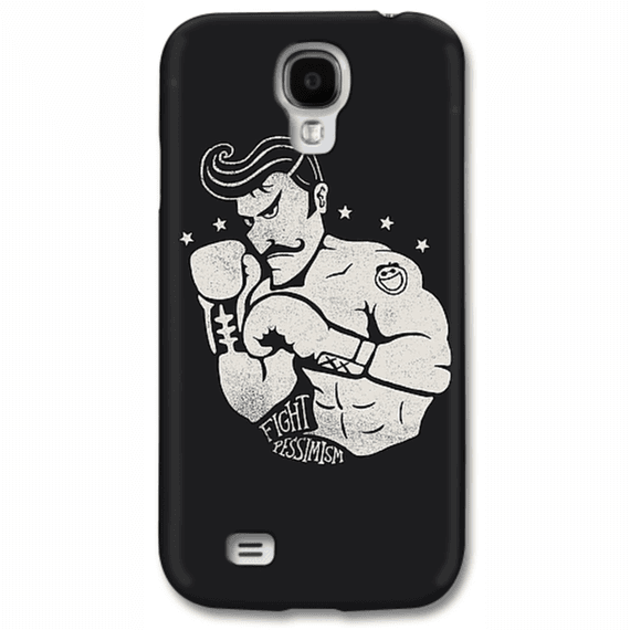 Fight Pessimism Phone Case