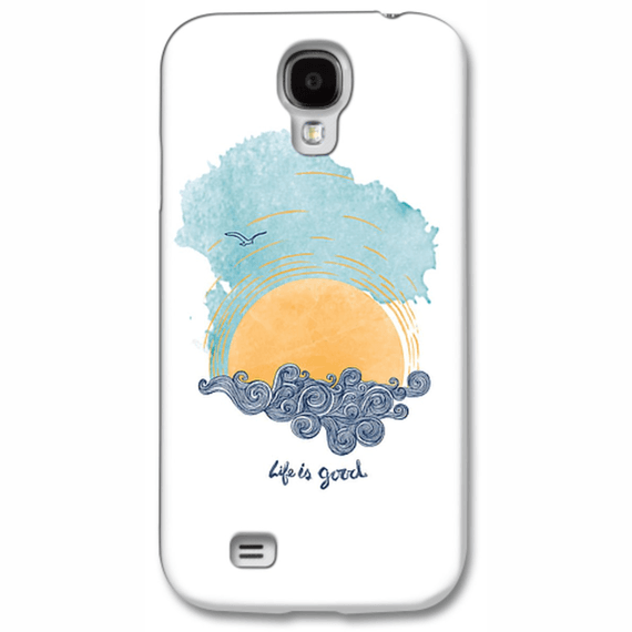 Life Is Good Sunset Swirl Phone Case