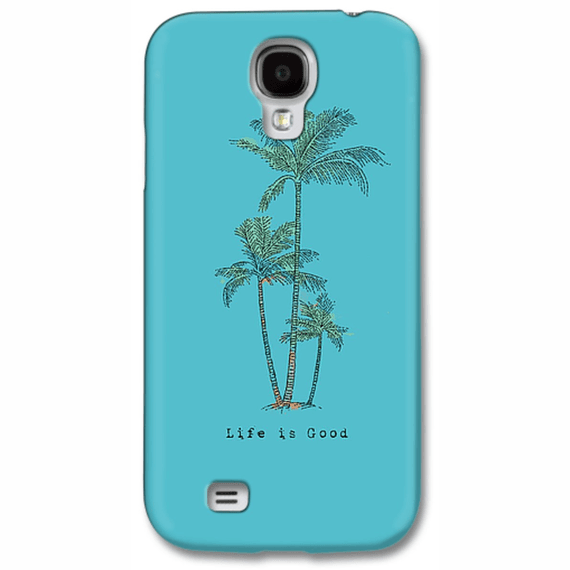 Palm Trees Life Is Good Engraved Phone Case